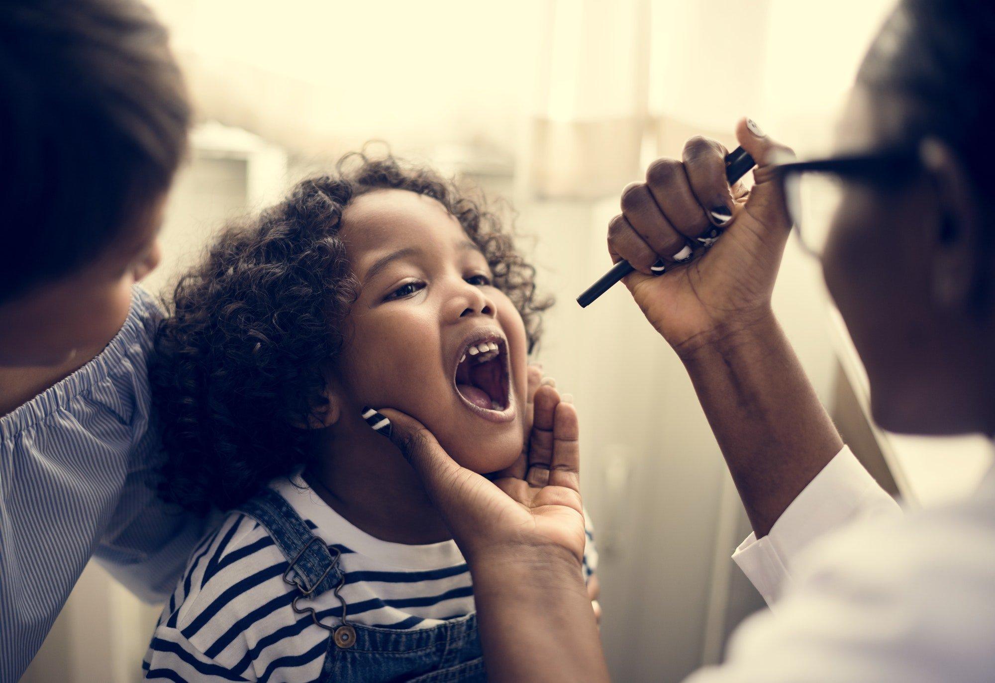 take care of children teeth